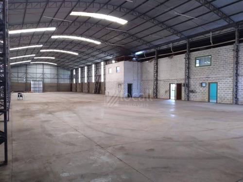 Barracão Para Alugar, 2300 M² Por R$ 13.000,00/mês - Zona Rural - Mirassol/sp - Ba0062
