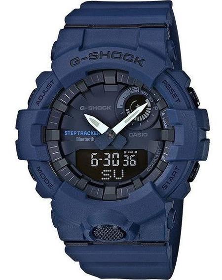 Relógio Casio G-shock G-squad Gba-800-2adr Passos Bluetooth