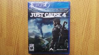Just Cause 4 Edicion Dia 1 Ps4 Nuevo Sellado