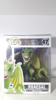 Funko Pop Game Of Thrones #47 Rhaegal Con Protector