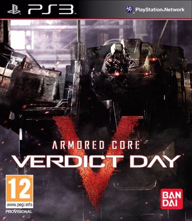Jogo Armored Core V Veredict Day Ps3 Playstation 3 Física