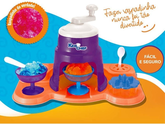 Máquina De Raspadinha Kids Chef Frozen Acessórios-multikids
