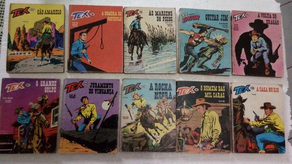 Tex Editora Vecchi Edições 1978/80/81/82 Com 10 Revistas