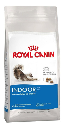 Alimento Royal Canin Feline Health Nutrition Indoor 27 para gato adulto sabor mix en bolsa de 7.5kg