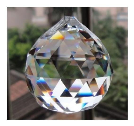 100 Esferas De Cristal K9 Feng Shui 30mm - Melhor Preço