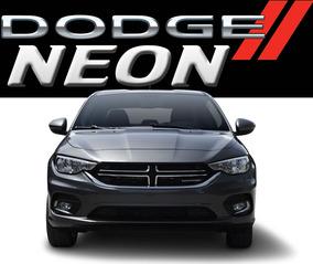 Dodge Neon Se Mtx Ideal Uber 1.4l 95hp Std 17km/l Ac Abs Rhc