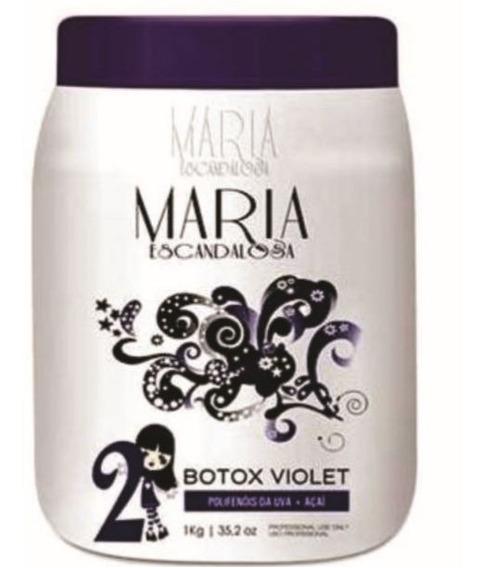 Maria Escandalosa Botox Matizador Violet 1kg Obeleza