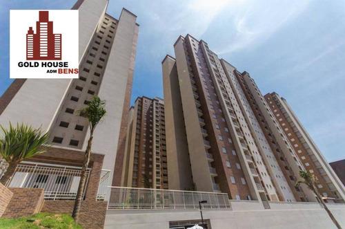 Imagem 1 de 19 de Apartamento Com 3 Dormitórios Para Alugar, 77 M² Por R$ 2.000,00/mês - Jardim Maia - Guarulhos/sp - Ap1285