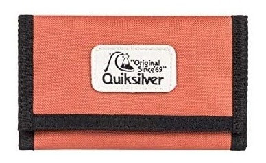 Billetera Quiksilver The Everydaily Cordura 2211128025 Rojo
