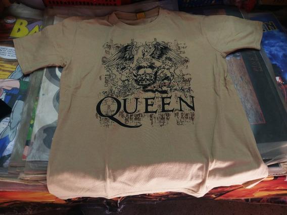 Queen Logo Polera Talla L