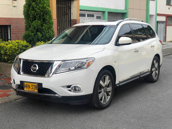Nissan Pathfinder Exclusive 4x4 7pj