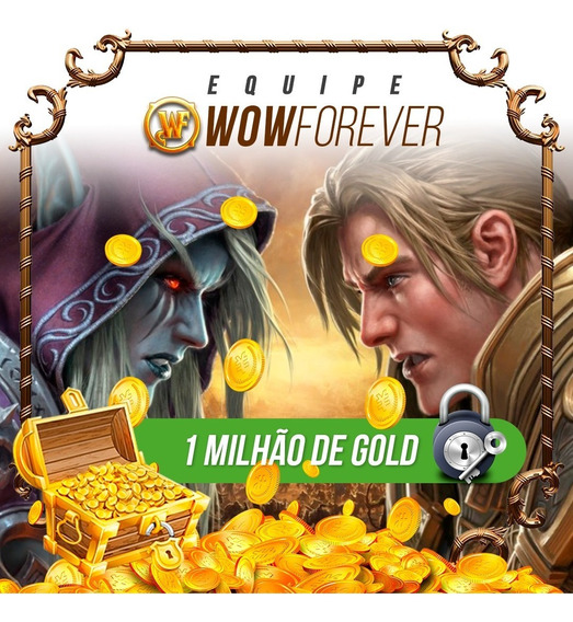 1m - Gold Wow, Wow Gold, Ouro Wow, 1kk, Azralon