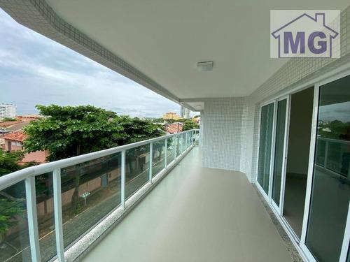 Imagem 1 de 30 de Apartamento Com 3 Dormitórios Para Alugar, 140 M² Por R$ 3.300,00/mês - Praia Do Pecado - Macaé/rj - Ap0407