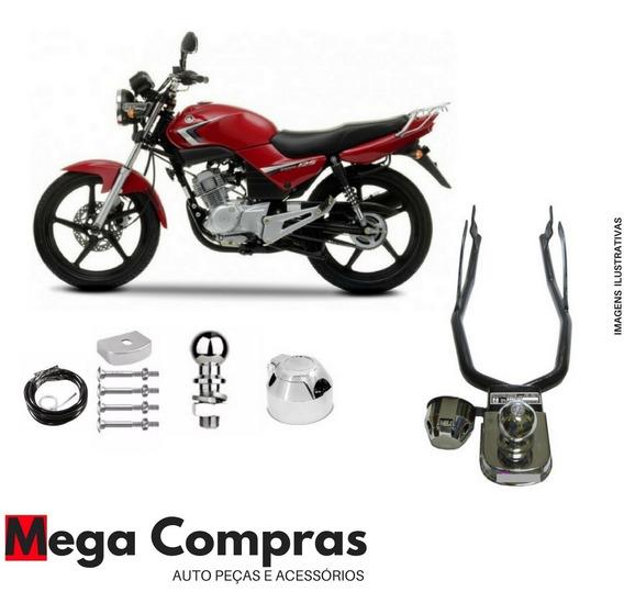 Engate Reboque Rabicho Moto Yamaha Ybr 125 Homol. Promoção