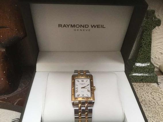 Remate:raymond Weil Caballero Suizo Original Acero Y Oro 18
