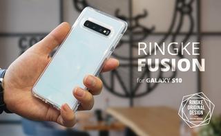 Capinha Galaxy S10 Ringke Transparente