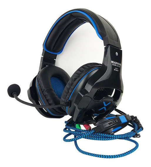 Headfone Gamer 7.1 Surround Drive Microfone Flexível Hf-g650