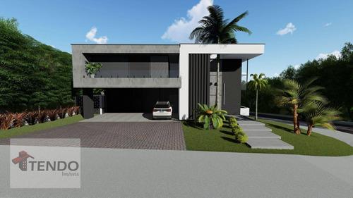 Imagem 1 de 8 de Sobrado 560 M² Com 4 Dormitórios Sendo 4 Suítes, Localizado No Bairro Parque Reserva Fazenda Imperial - Sorocaba/sp - So0664