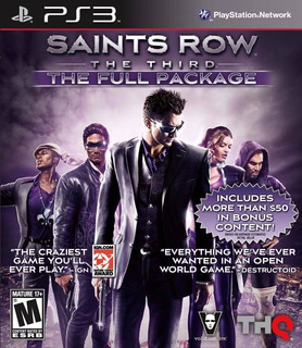 Saints Row The Third + Dlc ~ Ps3 Digital Español