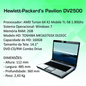 Notebook Hewlett Packard