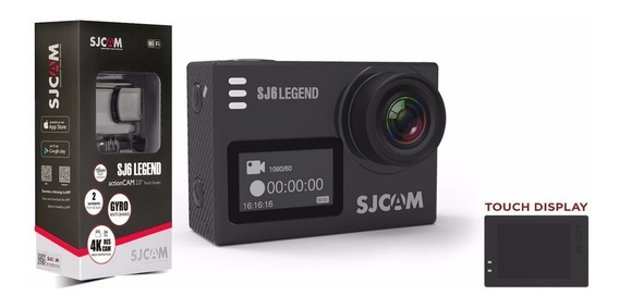 Camera Sjcam Sj6 Legend 4k Full Hd Wifi Gopro Prova D