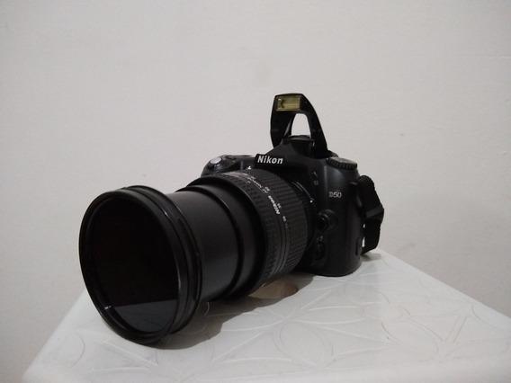 Câmera Nikon D50 Com Lente 24-120mm