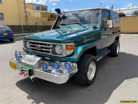 Toyota Land Cruiser Carpada Mt 4500cc Aa 4x4