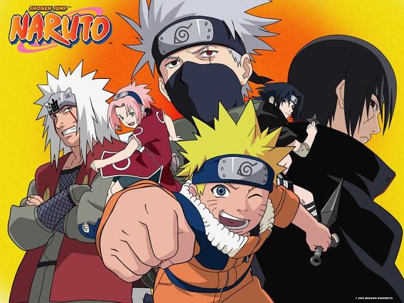 Coleção De Desenhos Naruto Clássico 9 Temporadas