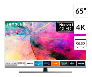 Qled 65 Qn65q80ragxzs 4k Ultra Hd Smart Tv Envio Gratis Arg