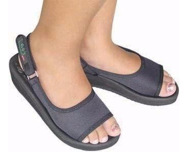 Sandália De Imã Salto Alto Terapia Magnética Dor Pé Terumi