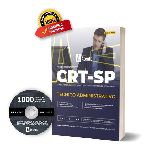 Apostila Crt / Sp - Técnico Administrativo 2020