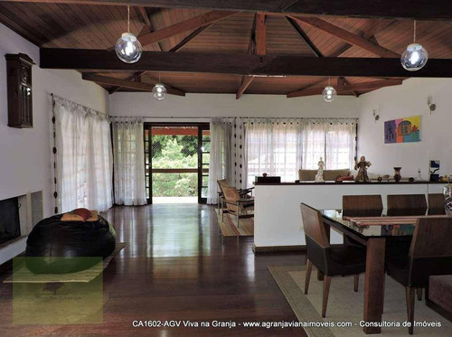 Casa À Venda, 470 M² Por R$ 1.400.000,00 - Granja Viana - Carapicuíba/sp - Ca1602