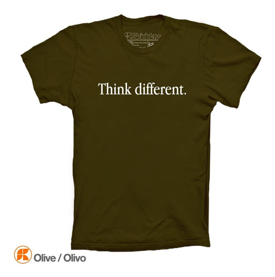 Playeras Think Different Apple Geek iPhone X Lovers Skiddaw