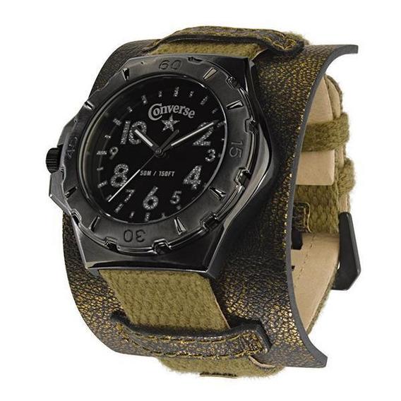Relógio De Pulso Converse Bootleg - Verde Exercito