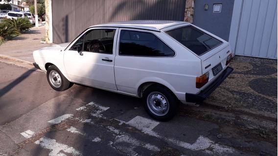 Volkswagen Gol Bx 1982 Placa Preta - Raridade