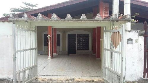 Imagem 1 de 10 de Casa Geminada Com 300 Metros Do Mar - Itanhaém 4672   A.c.m
