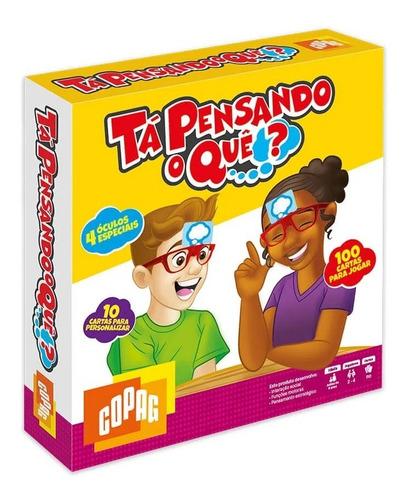 Jogo De Tabuleiro Cartas Board Game Tá Pensando O Quê? Copag