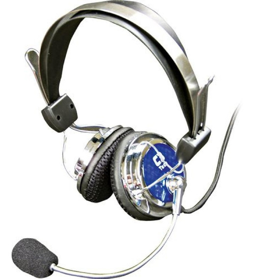 Headset Gamer Pterodax C3tech Com Microfone Fone De Ouvido