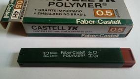 Grafite Faber Castell Tk. 0.5 4h. Caixa Com 6 Tubos C 12un.