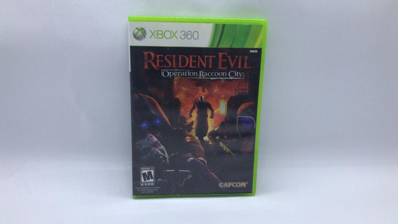 Resident Evil Operation Raccoon City - Xbox 360 Cd Original