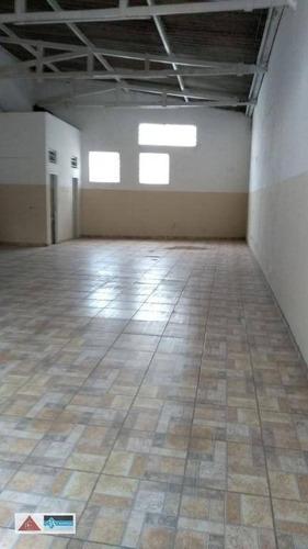 Galpão À Venda, 179 M² Por R$ 650.000,00 - Vila Formosa - São Paulo/sp - Ga0296
