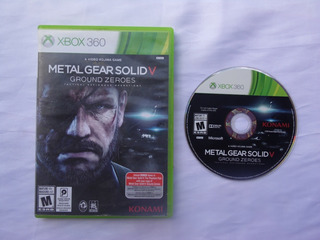 Metal Gear Solid V Ground Zeroes De Xbox 360