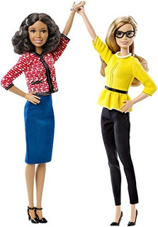 Barbie President - Vice President Dolls 2 Pack