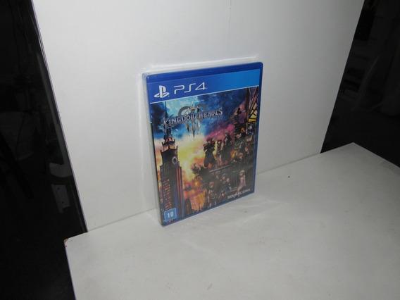 Kingdom Hearts Iii Ps4 Mídia Física Novo Lacrado