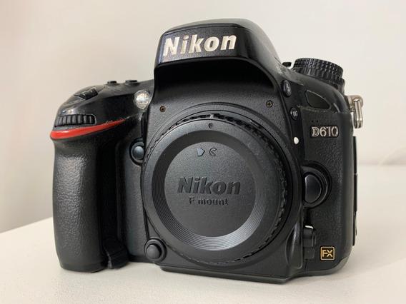 Câmera Nikon D610 + 2 Baterias