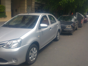 Toyota Etios 1.5 Sedan X C/audio