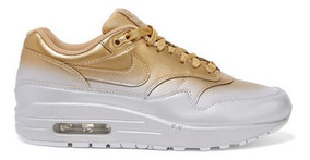 Nike Air Max 1 Lx Dégradé Metallic Leather Sneakers