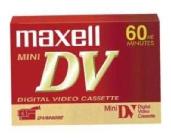 Fita Mini Dv 60 M Maxell