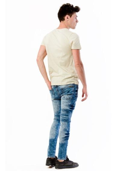 Jeans Hombre Chupin Elastizado Cuotas Sin Intereses