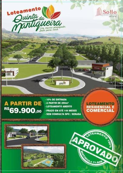 Loteamento - Bairro Planejados Á 4km Do Centro De Extrema - Te0013
